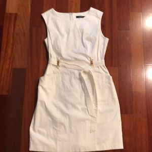 White Ellen Tracy dress